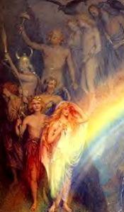 Freya gods--rainbow