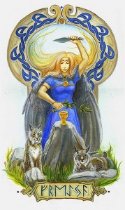 Freya, herbs, lynx
