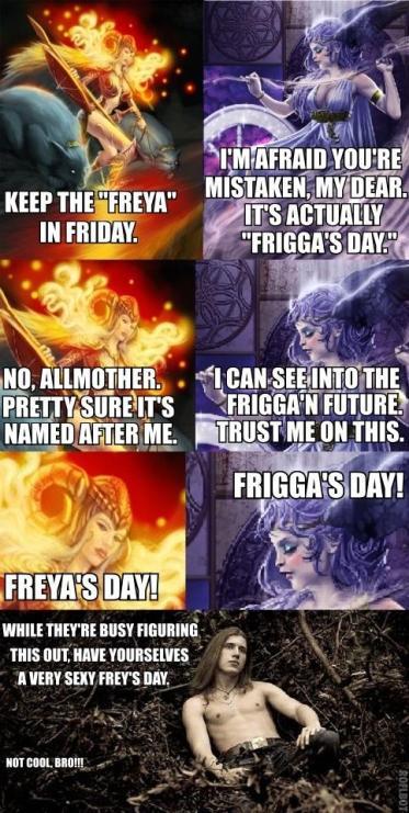 Frigga and Freya's Day