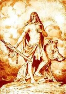 golden Freyr, drawing
