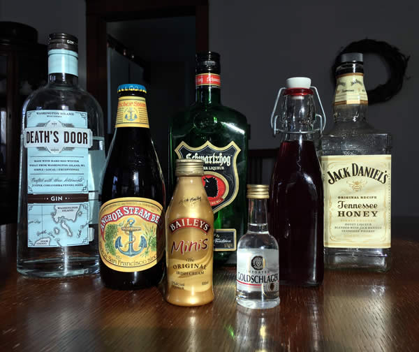 Liquour stash for the Vanir